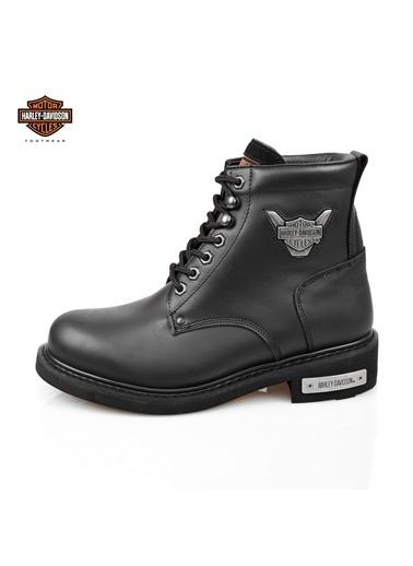Harley Davidson Harley Davidson Gibson Siyah Erkek Bot Siyah